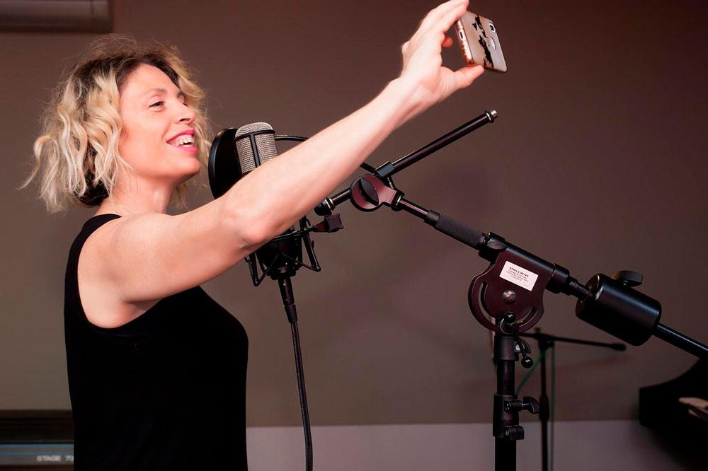 Clases de canto virtuales Montse Franco